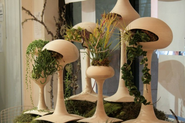Оригинальные горшки для комнатных растений