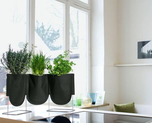 Офисные горшки для растений