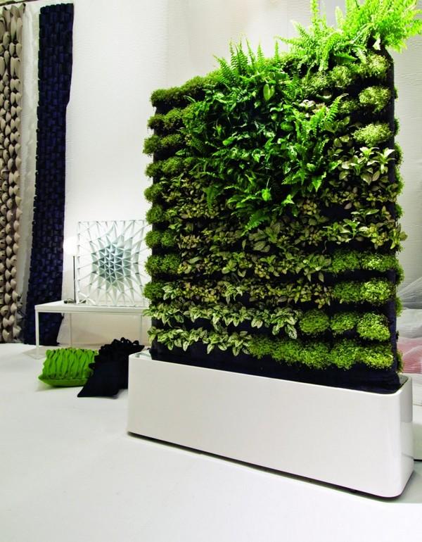 Межкомнатные перегородки из живых растений