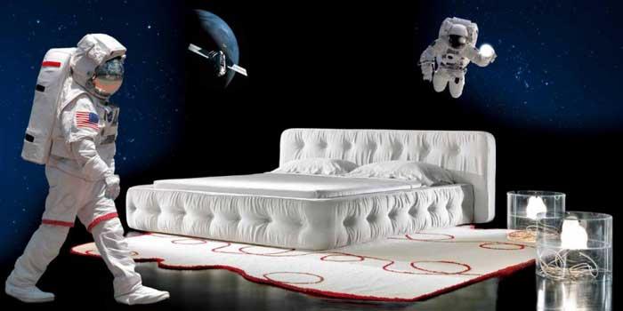 Итальянская стеганная кровать
