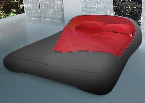 Кровать без ножек застёгивающаяся молнией