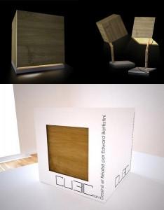 Оригинальная лампа прикроватный светильник