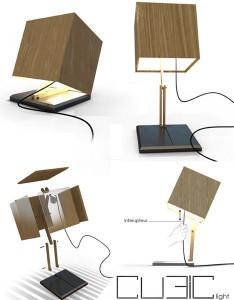 Минимализм в дизайне. лампа для спальни