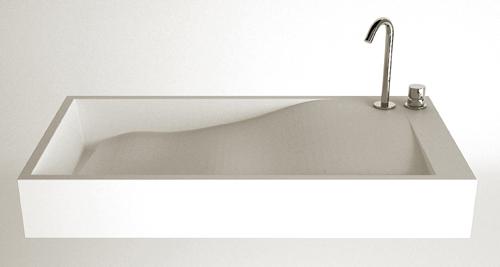 Раковина для ванной нестандартной формы