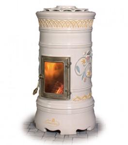 Керамическая печка дровяная итальянская