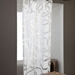 Белая декоративная ткань для создания интерьера