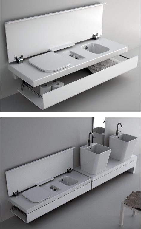 Сантехника для небольшой ванной комнаты