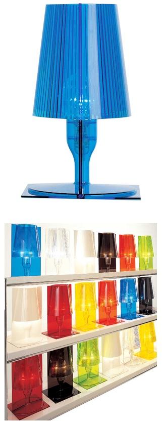 Настольные лампы 7 цветов