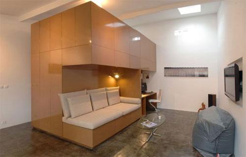 Двухъярусная кровать чердак -- экономия места в малогабаритном жилье
