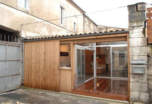 Малогабаритное одноэтажное жильё из простого гаража