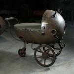 Детская коляска в стиле Стим Панк