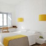 Пример спальни в светлых тонах
