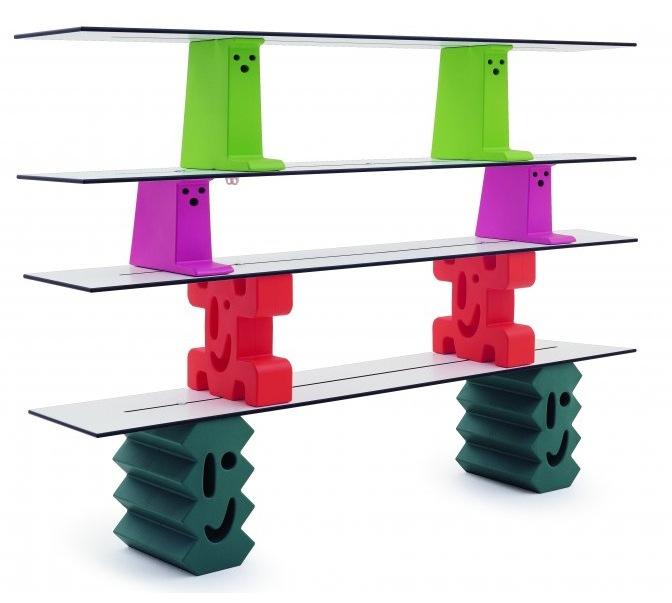 Стеллаж для детской комнаты игровой