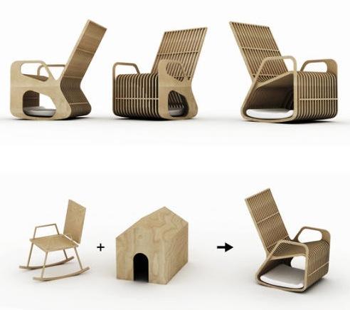 Оригинальное кресло для дома