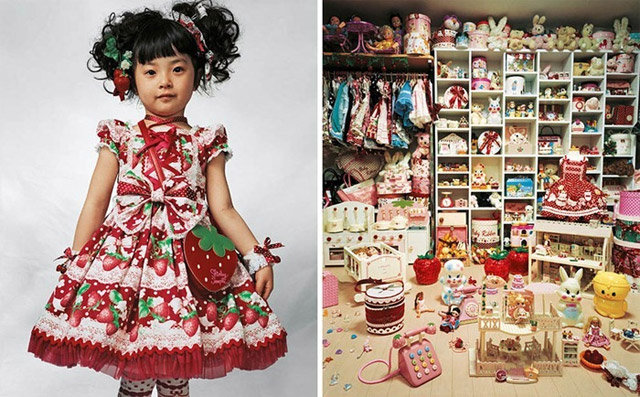 Оформление детской в японском стиле