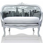 Диваны и кресла классической формы с оформлением фото