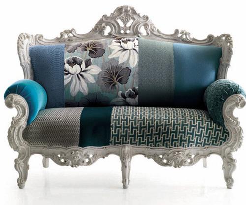 Классическая мебель с современной обивкой