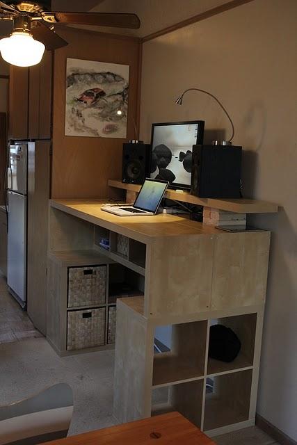 Подробное описание как сделать компьютерный стол самому