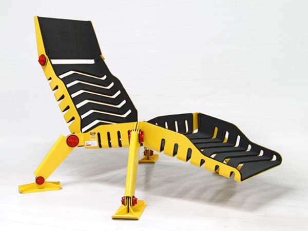 Современное кресло. Стиль: Индастриал