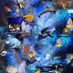 Ковер для детской комнаты с подводный мир
