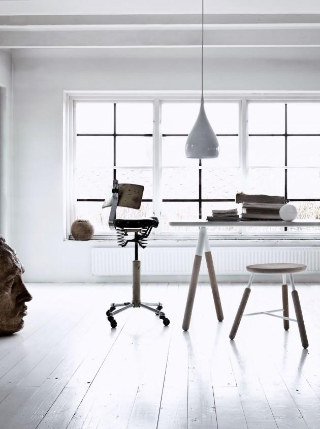 Стол со столешницей из массива ясеня или дуба