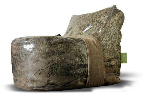 Мебель набитая сеном