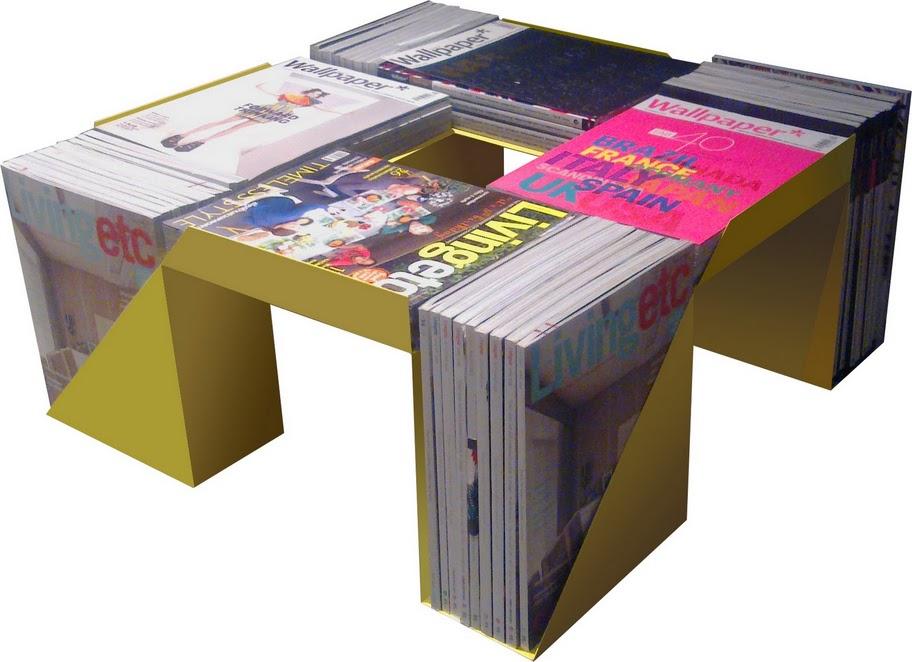 Оригинальный журнальный столик