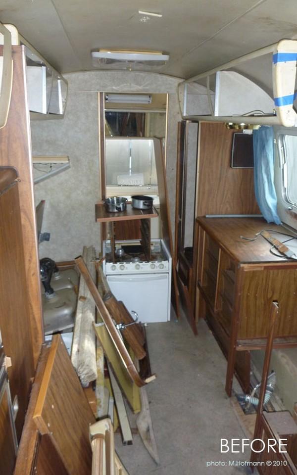 Полная переделка трейлера в мини дом на колесах