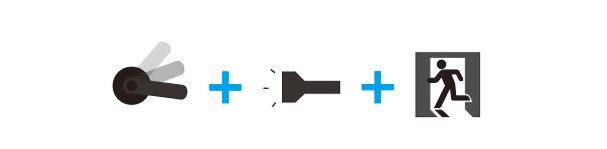 Принцип действия отсоединяемой дверной ручки