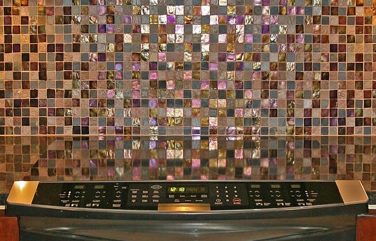 Плитка мозаика для кухни; плитка на фартук