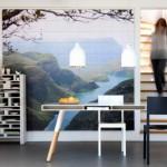Оформление стен: наклейки или фото-обои