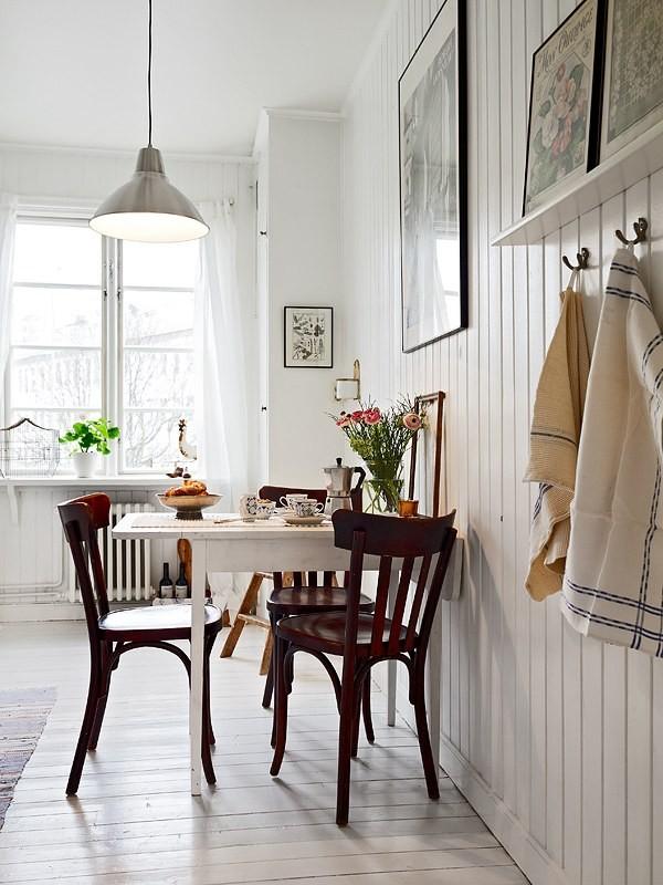 Малогабаритная кухня в однокомнатной квартире