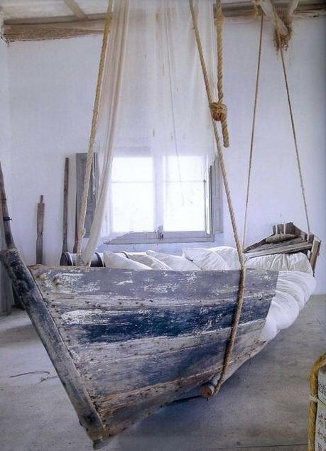 Подвесная кровать переделанная из старой