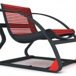 Регулируемое офисное кресло с двумя разными режимами