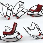 Офисное кресло, которое легко трансформируется в кресло-качалку