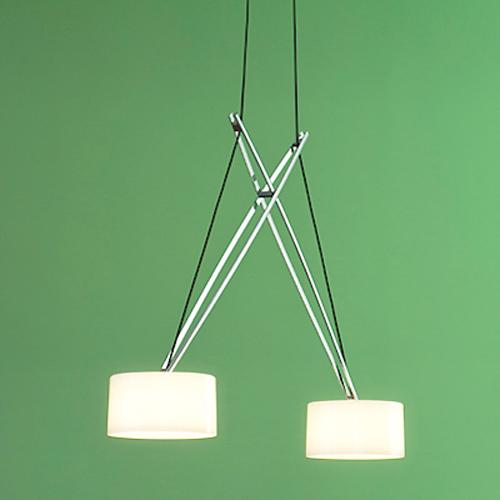 Двойная люстра для кухни с регулируемой высотой