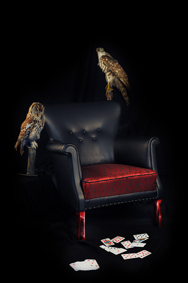 Классическое мягкое кожаное кресло