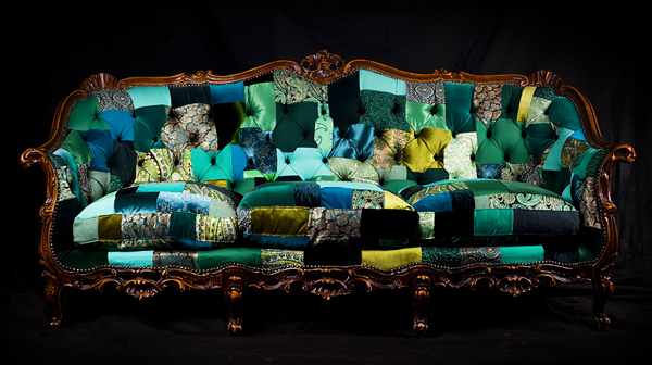 Переделка классического мягкого дивана