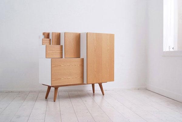 Модульный сборно-разборный шкаф