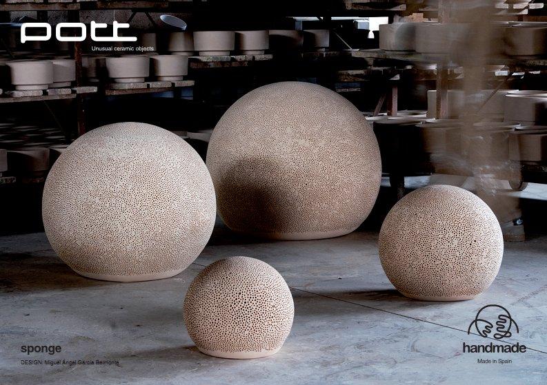 Садовые светильники из керамики