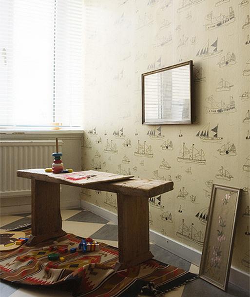 Пример обоев для детской комнаты