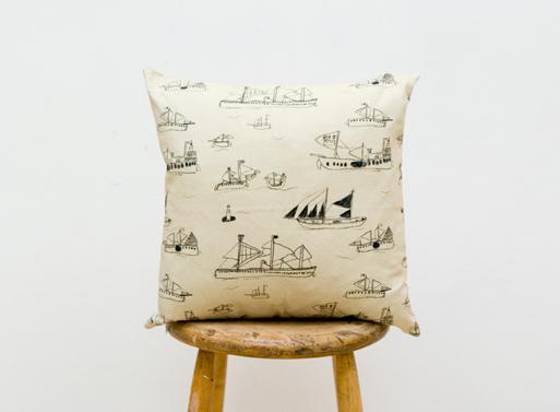 Фрагмент обоев как сделанная на заказ подушка