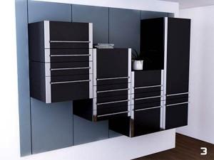 Дизайн кухни; модульные кухонные шкафы и блоки