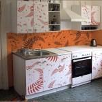 Виниловые наклейки для кухонной мебели