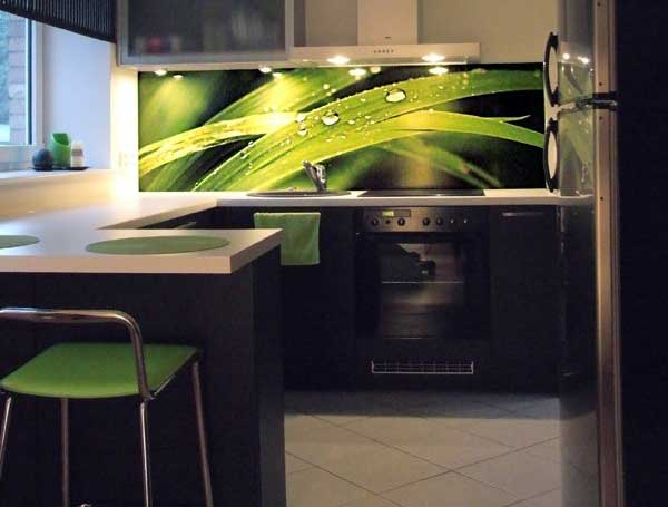 Виниловая интерьерная наклейка для кухни