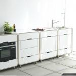 Кухня из блоков модулей