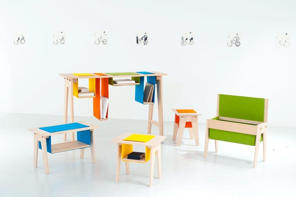 Мебель для детской комнаты из натуральных материалов