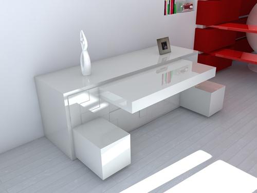 Модульная мебель, комод со множеством выдвижных полок и сидений