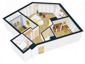 Программа для 3d моделирования квартиры на российском
