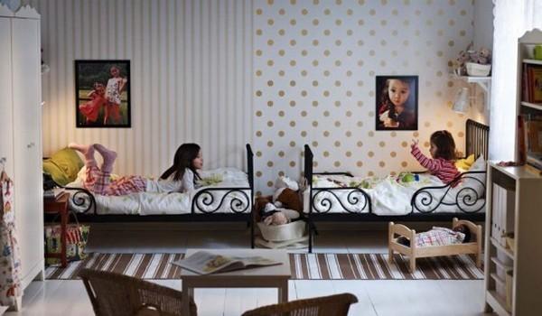 Пример детской комнаты для девочек